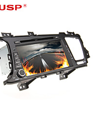 abordables -8 pulgada 2 Din Windows CE 6.0 / Windows CE En tablero reproductor de DVD Bluetooth Integrado / GPS / iPod para Kia Apoyo / RDS / Interface 3D / Control de Volante / Salida para Subwoofer
