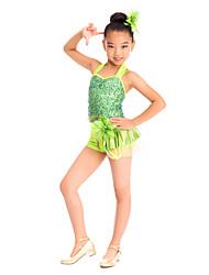 cheap -Ballet Dresses Women's Training Spandex / Sequined Sequin / Flower / Modern Dance