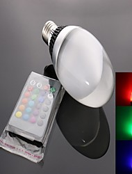 E26/E27 LED Spotlight C35 1 High Power LED 950 lm RGB K Remote-Controlled AC 85-265 V