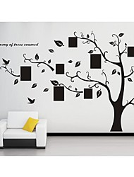 cheap -Botanical Wall Stickers Plane Wall Stickers Decorative Wall Stickers, Vinyl Home Decoration Wall Decal Wall