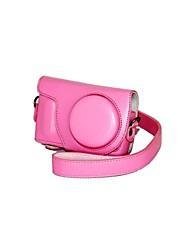 dengpin® Leder abnehmbare Schutz Kamera Tasche Abdeckung für Samsung nx mini NXF1 mit 9mm Linse