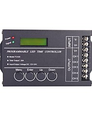 cheap -20A 5-Channel DIY Programmable LED Time Controller with USB Cable for RGB LED Strip Lamp (DC 12-24V)