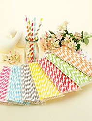 1set Papier Pailles & Piques pour Soirée