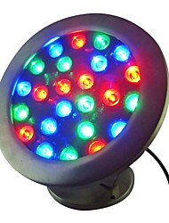 cheap -24W 24 LEDs IP68 Waterproof Outdoor RGB LED Underwater Light (AC24V)