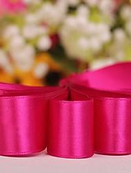 couleur solide ruban de satin 7/8 pouces -50 mètres par rouleau (plus de couleurs)