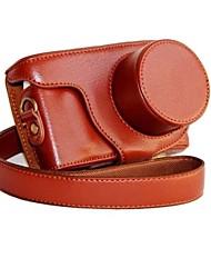 dengpin® Leder abnehmbare Schutz Kamera Tasche Abdeckung für Samsung nx mini NXF1 mit 9-27mm Objektiv