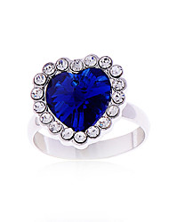 cs cristal diamonade strass brillent anneaux élégants