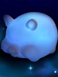 cheap -Coway Colorful Pig LED Nightlight