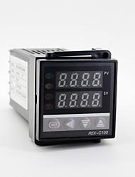 "1.2"" LED 100-240V REX-C100 K-Type Temperature Control + Thermocouple"