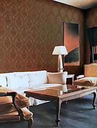 economico -carta da parati rivestimento murale, stile europeo muro di carta modello classico pvc stereoscopico