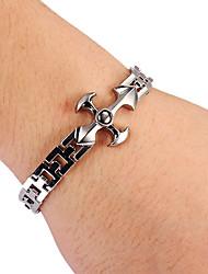 Mode Kreuzform unisex Silber-Legierung Tennis-Armband (1 PC)