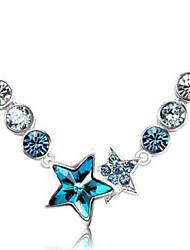 CS Crystal Shine High Grade Fashion Elegant Necklace
