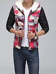 novo jateamento lazer casaco fashion dos homens encapuzados