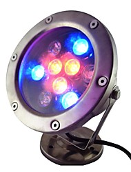 cheap -9W 9 LEDs IP68 Waterproof Outdoor RGB LED Underwater Light (AC12V)