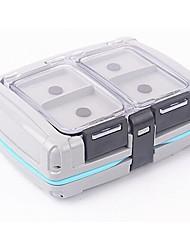 Недорогие -Коробка для рыболовной снасти Водонепроницаемый пластик 10 cm 3.5 cm