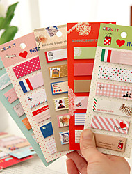 nom long 120 pages autocollant (1 couleur aléatoire de pcs) art& kits d'artisanat