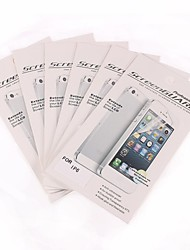 abordables -6 PC mate protector de pantalla frente anti-huella digital para el iPhone 6s / 6