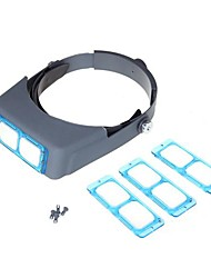 cheap -Double Lens Head-mounted Headband Reading Magnifier Loupe Head Wearing 4 Magnifications Cool Watch Unique Watch