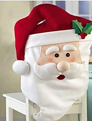 Santa Claus Kitchen Table Chair Covers 87*51cm