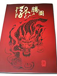 abordables -tatouage de dragon croquis livre de patron