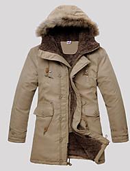 levne -Ležérní MEN - Coats & Jackets (Bavlna)