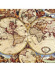 Недорогие -античный карта мира пазл маслом игрушка 1000 штук