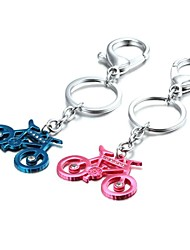 1 Pair 3D Bling Bike Bicycle Zinc Alloy Couple Keychain(First 10 Customers With Box Added)