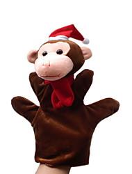 cheap -Monkey Finger Puppets Puppets Hand Puppet Cute Novelty Lovely Cartoon Textile Plush Boys' Girls'
