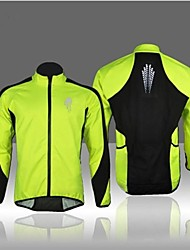 cheap -West biking Cycling Jacket Men's Bike Winter Fleece Jacket Top Winter Fleece Bike Wear Thermal / Warm Windproof Fleece Lining Breathable