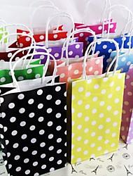 Недорогие -Ремесла партийные горошек бумаги GIF сумки портативный бумажный мешок