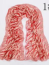 Недорогие -женская мода зебра шарф
