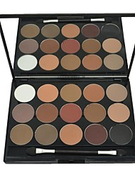 cheap -DANNI 15 Colors Professional Natural Eyeshadow Makeup Cosmetic Palette