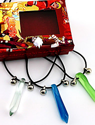 Jewelry Inspired by Naruto Naruto Uzumaki Anime Cosplay Accessories Necklace Blue / Green Male