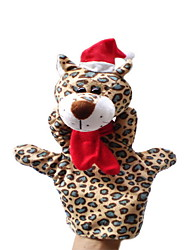 Christmas Leopard Large-sized Hand Puppets Toys
