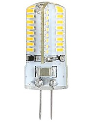 economico -ywxlight® 3w g4 led corn lights luci bi-pin led 64 led smd 3014 bianco caldo 300lm 3000-3500k ac 100-240v