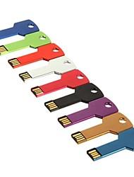 abordables -8gb unidad flash usb estilo llave (color surtidos)