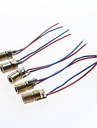 cheap -Red Dot Laser Diode Module - 5V (5PCS)