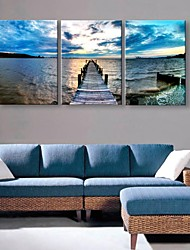 cheap -Personalized Canvas Print Coast 35x50cm 40x60cm  Framed Canvas Painting Set of 3