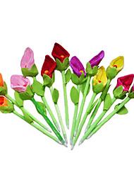 Недорогие -6pcs новой красоты плюшевых Калла цветок лилии ручки