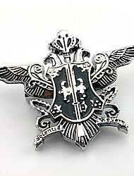 Bijoux Inspiré par Black Butler Sebastian Michaelis Anime Accessoires de Cosplay Broche Blanc Gemmes artificielles Masculin
