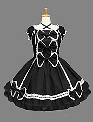cheap -Gothic Lolita Dress Princess Women's One Piece Dress Cosplay Sleeveless