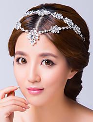 zircone cubique en alliage de tête tête de chaîne style féminin classique