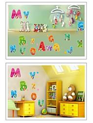 baratos -Desenho Animado Adesivos de Parede Autocolantes de Aviões para Parede Autocolantes de Parede Decorativos, Vinil Decoração para casa