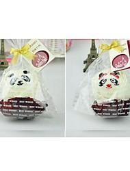 Недорогие -подарок на день рождения панды форма волокна творческой полотенце (случайный цвет)