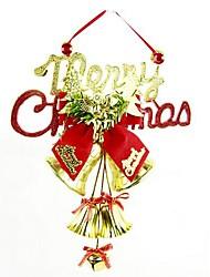 Недорогие -Новогодние украшения Рождественская елка кулон решетка часы на английском языке (случайный цвет)