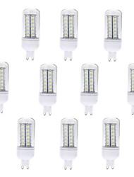 economico -10 pezzi 5W 500-600 lm G9 LED a pannocchia T 56 leds SMD 5730 Bianco caldo Luce fredda CA 220-240 V
