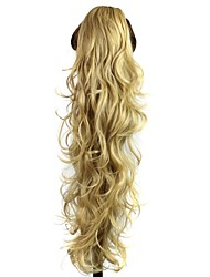 Human Hair Extensions Synthetic Curly Hair Extension