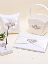 cheap -Elegant BeautifulFloral Theme Collection Set With Satin Wedding Ceremony