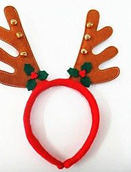 Christmas Party Cute Deer Antlers Hat with Bells Hair Head Band