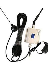 nova 900MHz lcd gsm amplificador booster de sinal móvel + kit antena